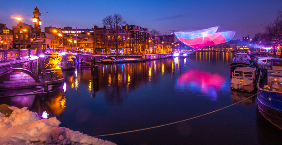 Light Festival 2020.Amsterdam Light Festival Amsterdam